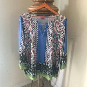 Sunny Leigh Women Blouse Long sleeve Size L